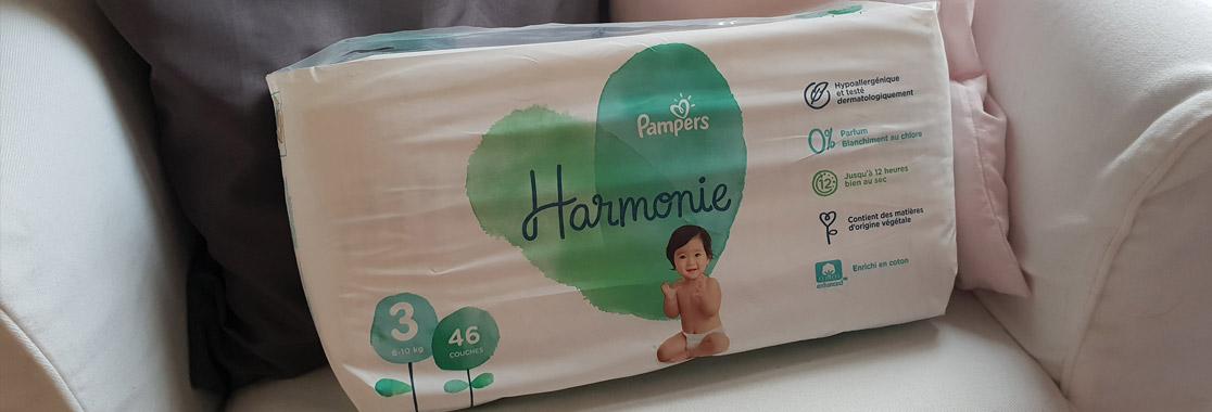 Une histoire de couche… Pampers Harmonie !